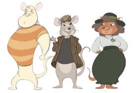 Various Mouse Designs (Pencil, Photoshop)