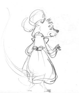 Anni Character Design (Pencil)