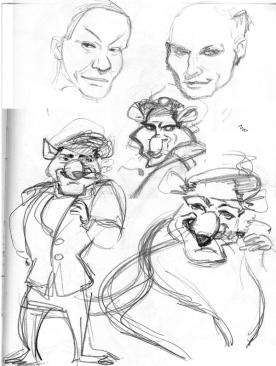 Sketches Käptn (Pencil)