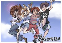 The Aucklanders Cover (2010) Colored with Photoshop