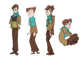 Judah Bernstein Character Design (Photoshop)