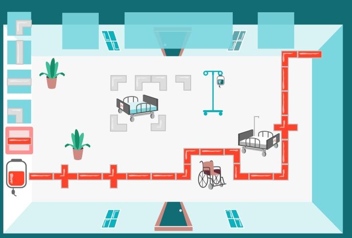 Design für Blutspende Dortmund MobileGame