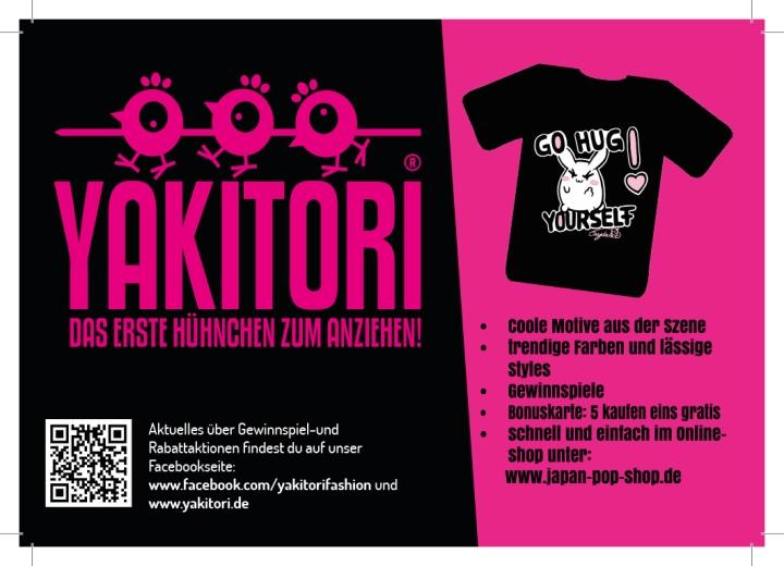 Flyer für Yakitori